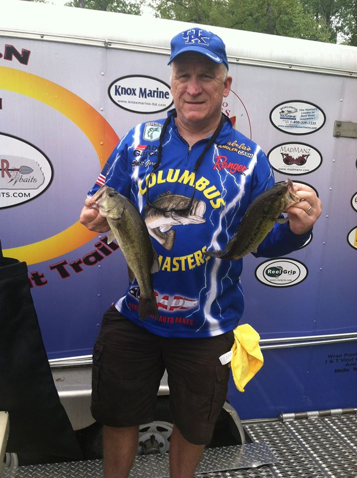 Portage Lake 9th Place Ohio Bass Nation
